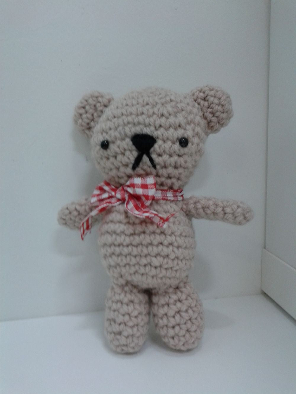 Guided Craft Project-Crochet a Teddy Bear
