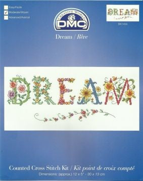 Flora Dream Counted Cross Stitch Kit