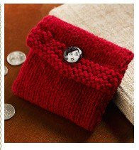 Guided Craft Project- Knit a Coin Pouch