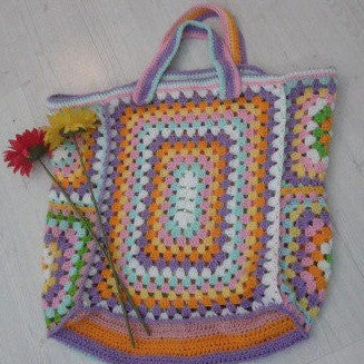 Guided Craft Project-Crochet a Shopping Bag