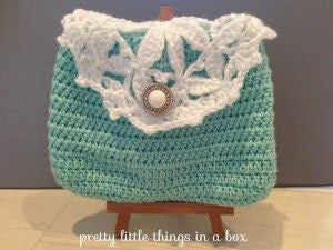 Guided Craft Project- Crochet a Lacy Pouch