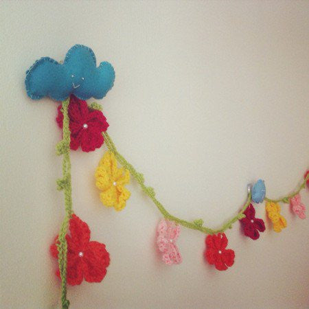 Guided Craft Project -Crochet a Garland