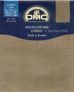 DMC 32 count Linen Cloth (Pre-Cut)