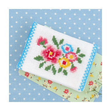 OLYMPUS Cross Stitch Tissue Pouch Romantic series (A)