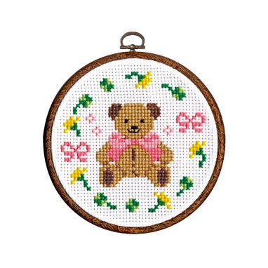 Olympus Cross Stitch Kit Bear