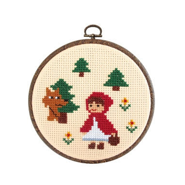 Olympus Cross Stitch Kit Fairy Tales- Little Red Riding Hood