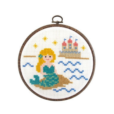 Olympus Cross Stitch Kit, Little Mermaid