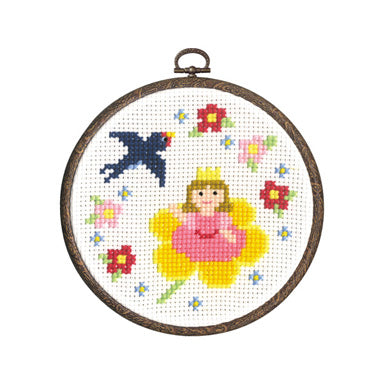 Olympus Cross Stitch Kit Fairy Tales- Princess Oyayubi