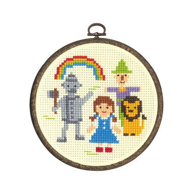Olympus Cross Stitch Kit, Wizard of Oz