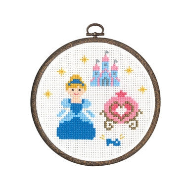 Olympus Cross Stitch Kit Cinderella