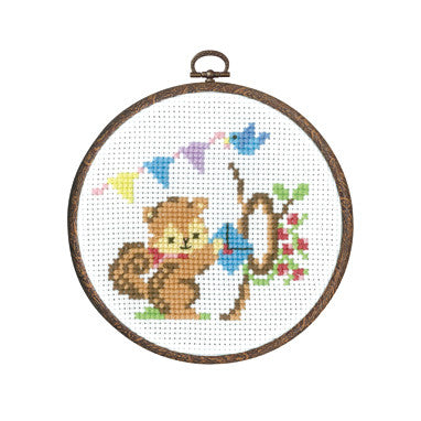 Olympus Cross Stitch Squirrel