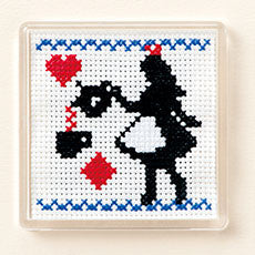 Cosmo Girl's Story Alice in Wonderland Magnet Cross Stitch Kit