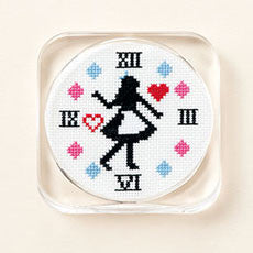 Alice in Wonderland Coaster Cross Stitch Kit