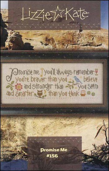 Lizzie*Kate Promise Me Cross Stitch Chart