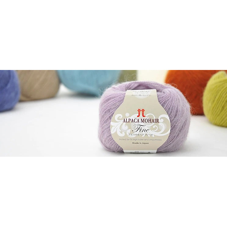 Hamanaka Alpaca Mohair Fine, Made in Japan (25g)