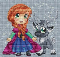 """Anna and Steve"" Cross Stitch Chart"