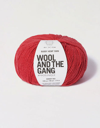 WOOL AND THE GANG Buddy Hemp Yarn