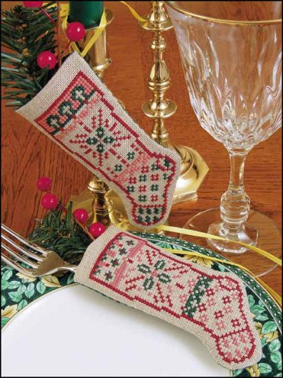 Linen Stocking- Believe Cross Stitch Kit