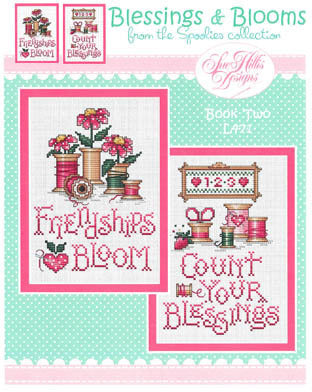 Blessings and Blooms Cross Stitch Chart (Book 2)
