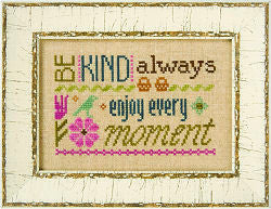 Lizzie*Kate A Pack of 3 Little Words Cross Stitch Chart