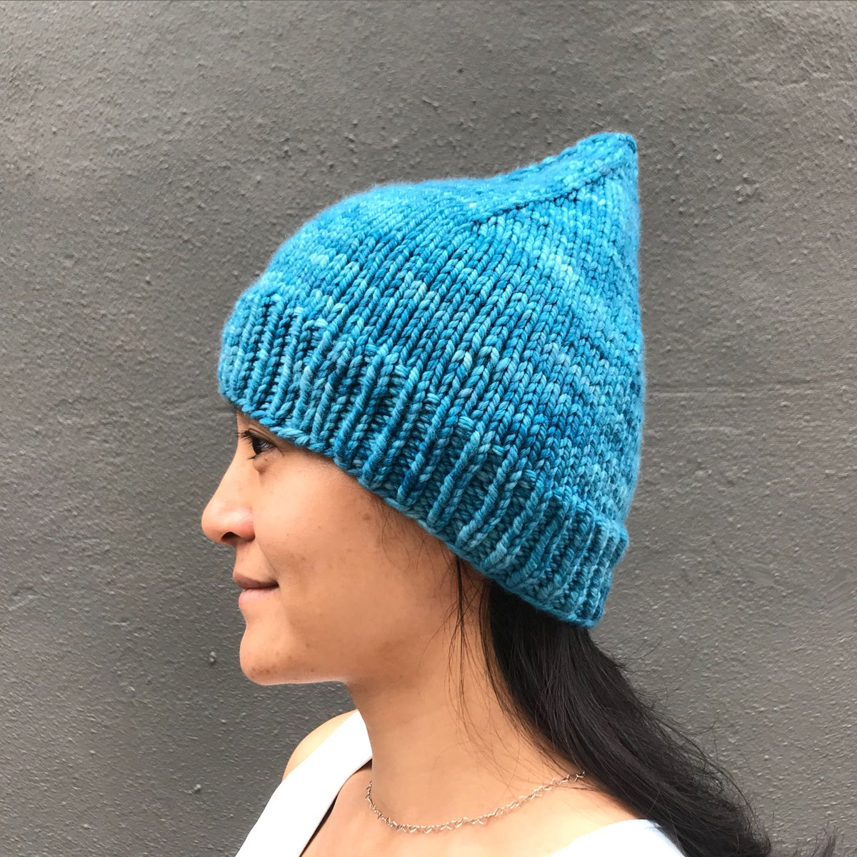 Guided Craft Project-Knit a Pixie Beanie