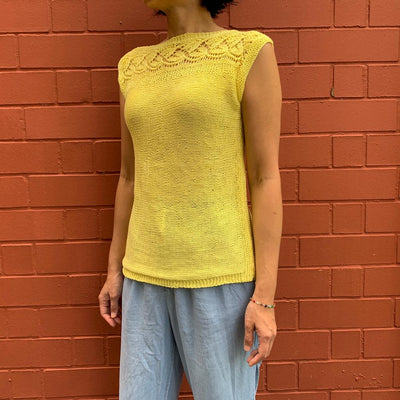 Guided Craft Project - Knit a Vine Lace Top