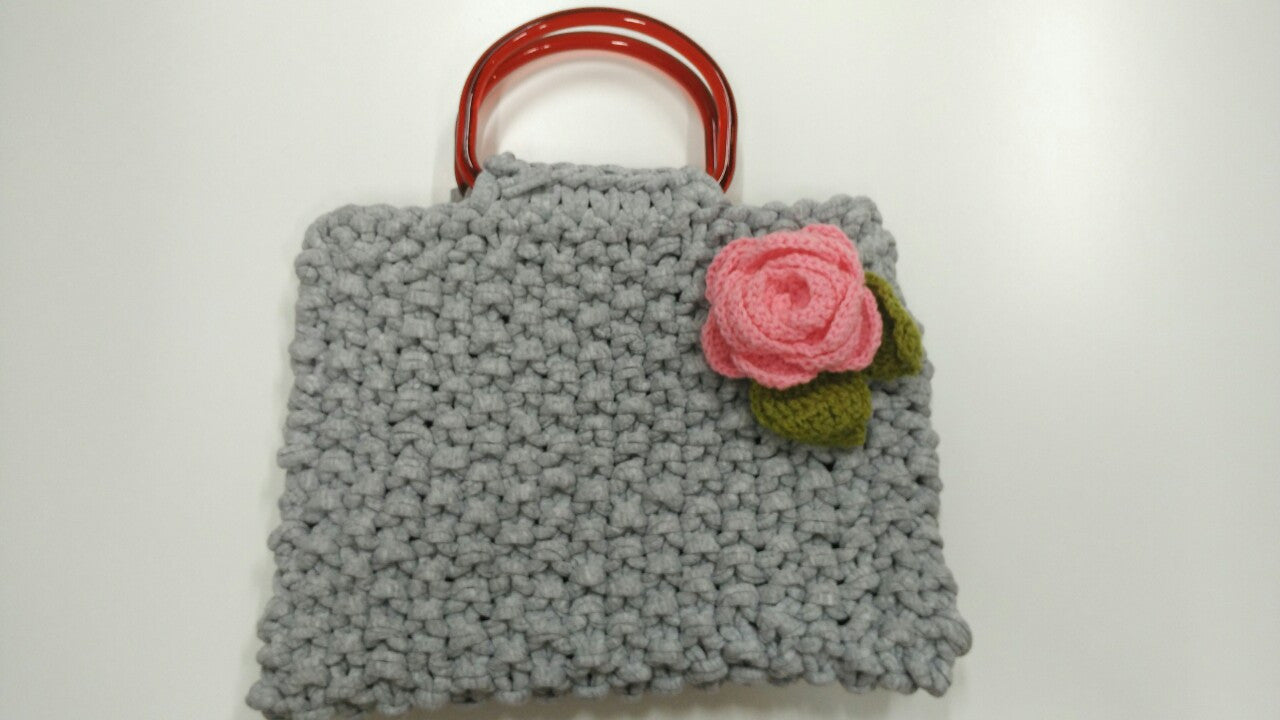 Guided Craft Project- Moss Stitch Handbag