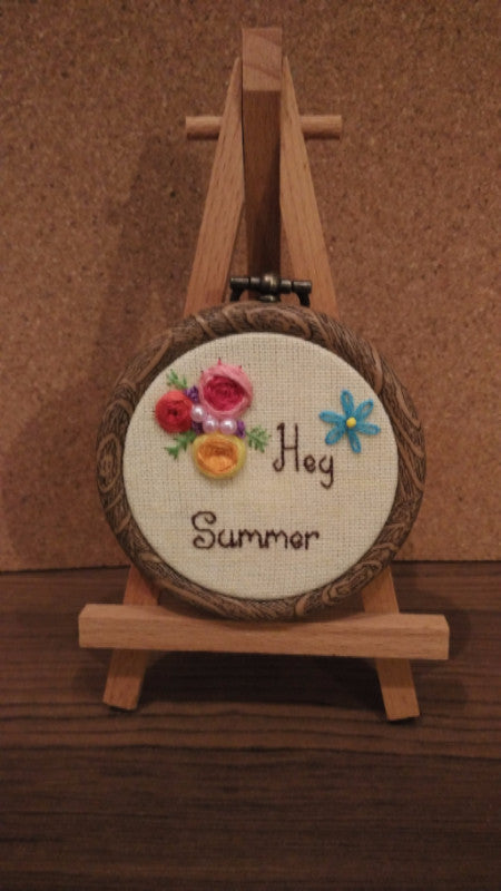 Handmade Hoop Art Customized Order