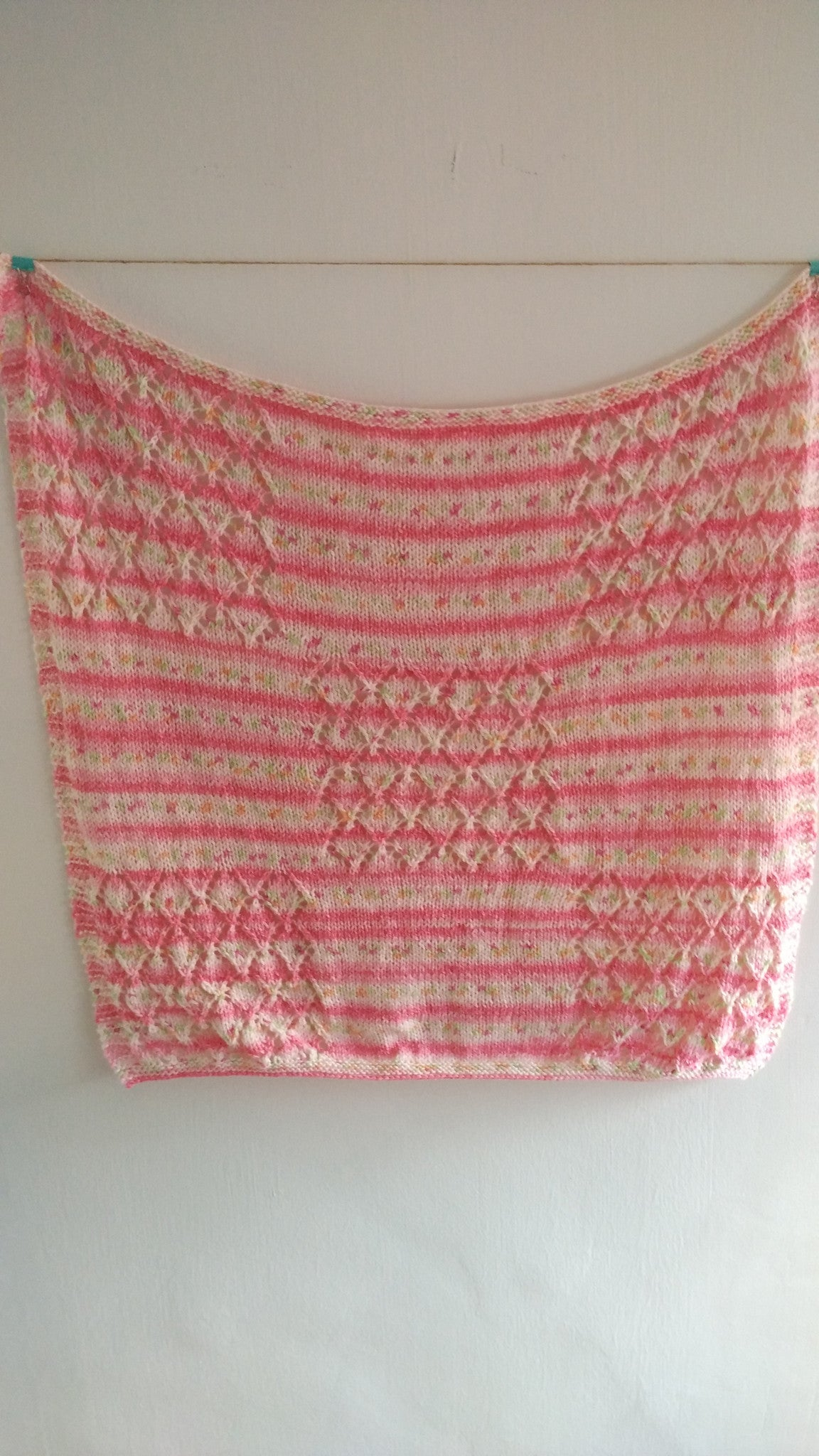 Unlimited Guided Project - Knit a Lacy Baby Blanket
