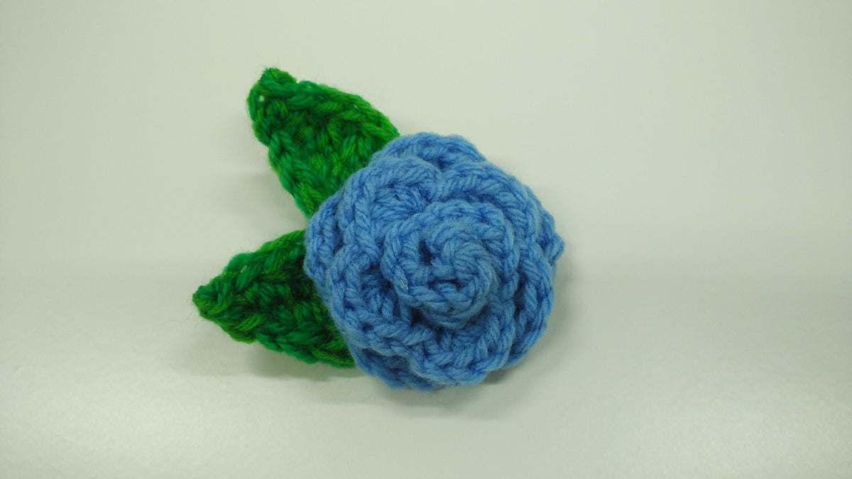 Guided Craft Project - Crochet a Flower Brooch