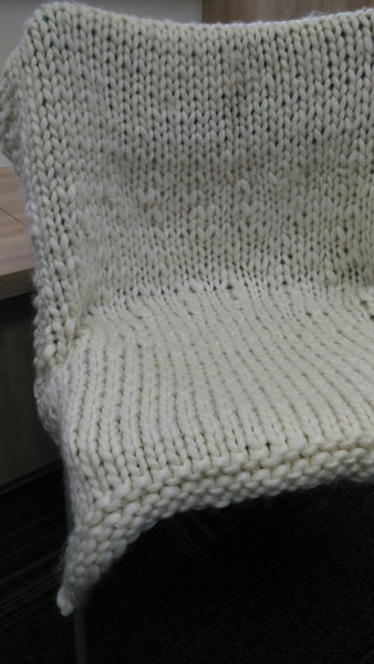 Guided Craft Project - Knit A Giant Blanket