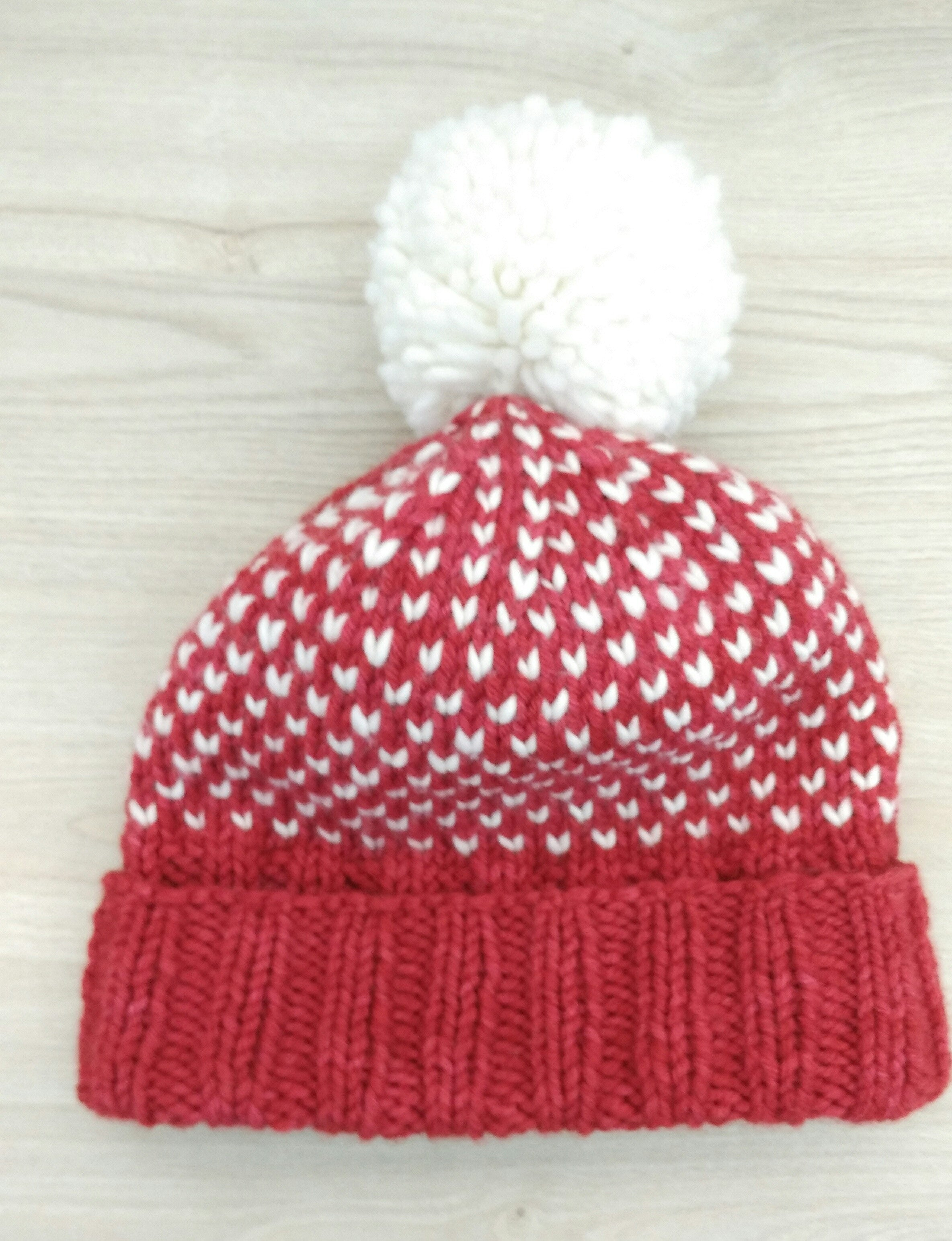 Guided Craft Project-Knit a Simple Fair Isle Beanie