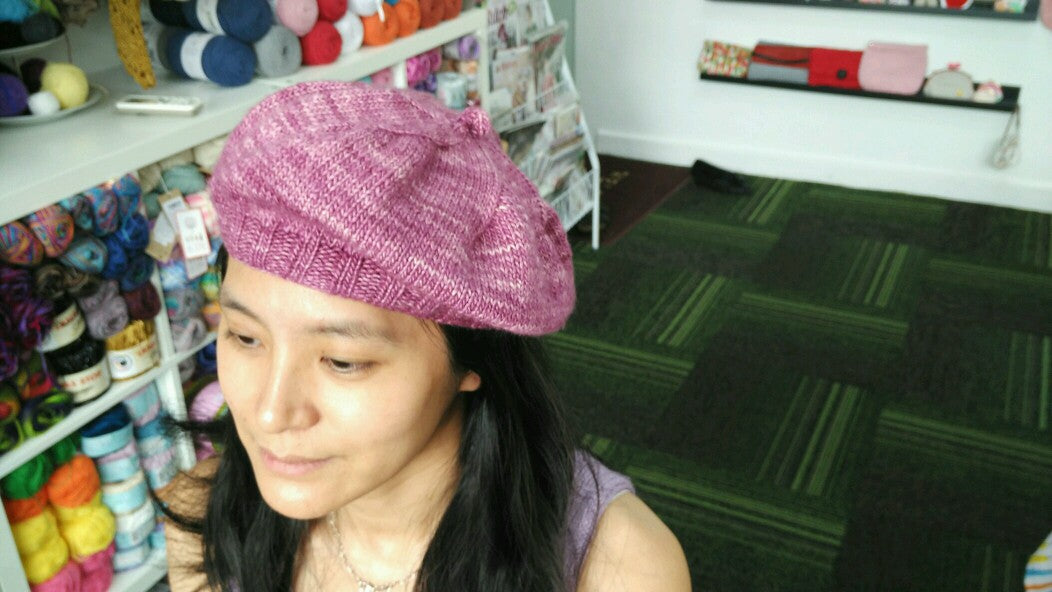 Guided Craft Project  -Knit a French Beret