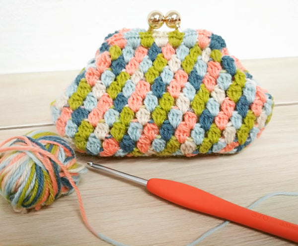 Guided Craft Project -Crochet Not-Your-Grandma's Purse (using Japanese Symbols)