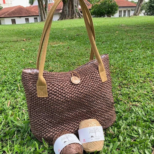 Guided Craft Project -Crochet a Beach Bag
