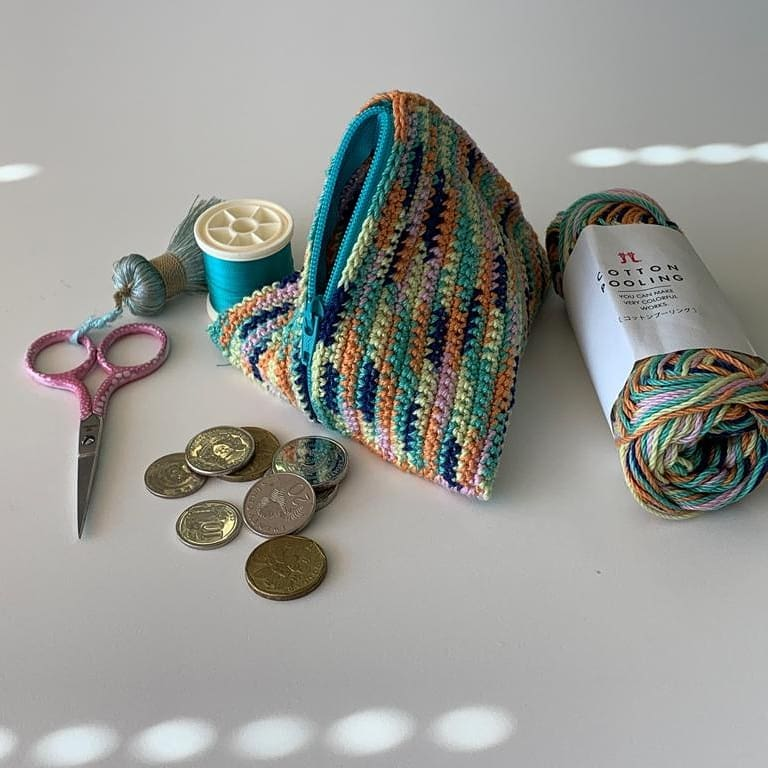 Guided Craft Project -Crochet A Dumpling Coin Pouch