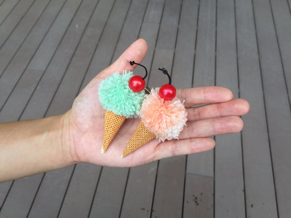 Stitch an Ice-cream Brooch/Hair Pin (1 Session)