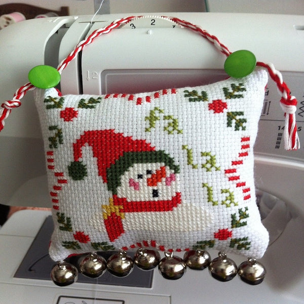Guided Craft Project -Cross Stitched Ornament