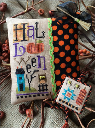 Lizzie*Kate Halloweenie Limited Edition Cross Stitch Kit