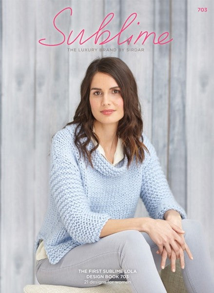 Sublime Lola Knitting Pattern Booklet (#703)