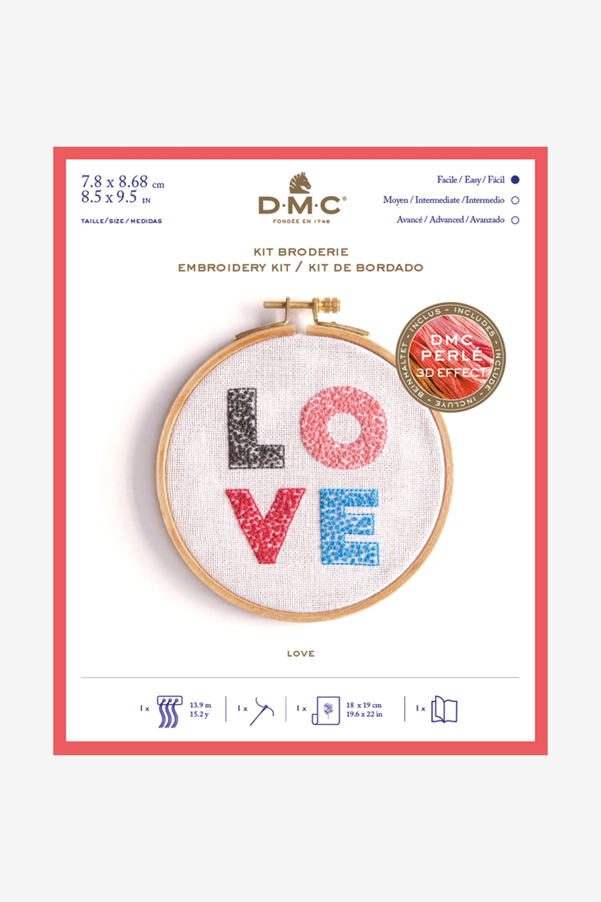 DMC Love Cross Stitch Chart