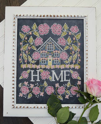 Rose Cottage Cross Stitch Chart