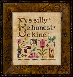 Lizzie*Kate Be Silly Cross Stitch Chart