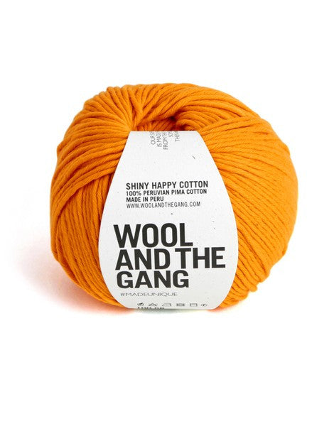 WOOL AND THE GANG Shiny Happy Cotton