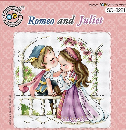 "SODA ""Romeo And Juliet"" Cross Stitch Kit"