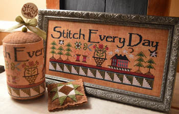 Stitch Every Day Cross Stitch Chart