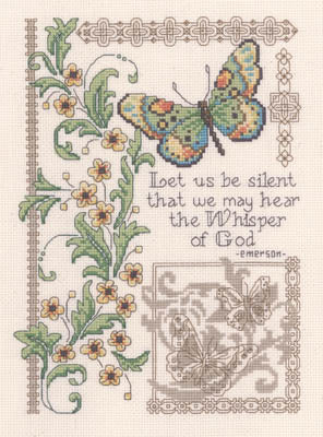 The Whisper of God Cross Stitch Chart