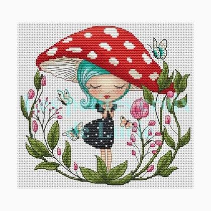 """Whisper"" Cross Stitch Chart"
