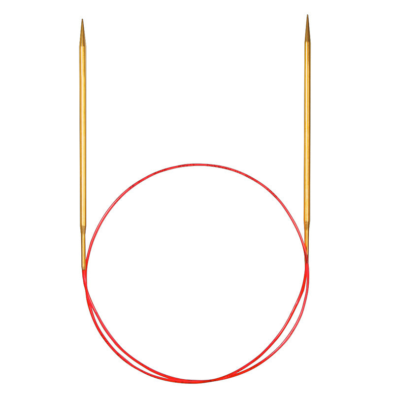Addi Brass Lace Circular Needles