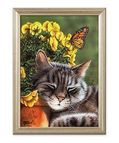 Afternoon Nap Cross Stitch Kit